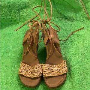 Bongo lace up sandals